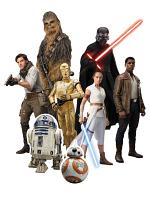 TT037 Star Wars New Rise 8 Table Top Cutouts