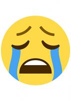 Crying Emoji Mask