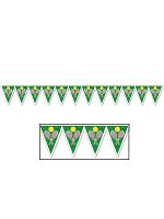 """Tennis Pennant Banner 11"""" x 7' 4"""""""