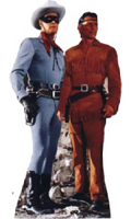 The Lone Ranger and Tonto Cardboard Cutout