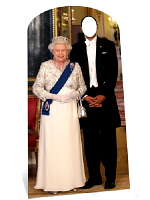 The Queen Stand-in Cardboard Cutout