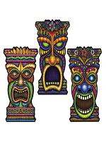 Tiki Cardboard Cutout Decoration