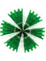 Tissue Fan - Green & White