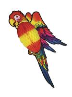 Tissue Parrot Decoration