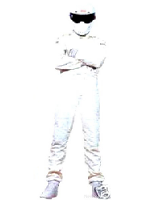 Top Gear's Stig Cardboard Cutout