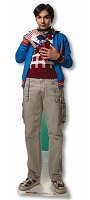 Raj Koothrappali The Big Bang Theory - Cardboard Cutout