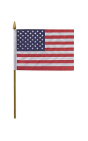"USA Hand Waving Flag 12"" x 18"""