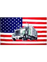 USA American 'Truck' Flag
