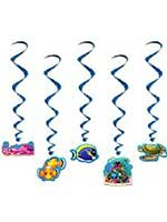 Under the Sea Hanging Whirls Decoration
