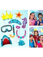 Under the Sea Photo Booth Kit