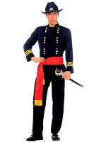 Union General Costume Blue