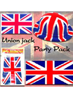 Union Jack Street Party Decoration Pack - Large