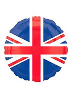 Union Jack Flag Foil Balloon