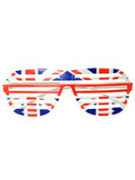 Union Jack Shutter Shade Glasses