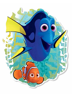 Finding Dory with Nemo Wall Mounted Cardboard Cut Out (WMCCO)