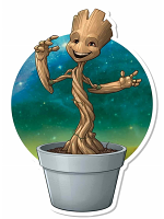 Marvel Guardians of the Galaxy Plant Pot Groot Wall Mounted Cardboard Cut Out (WMCCO)