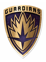 Guardians of the Galaxy Vol 2 Emblem Wall Mounted Cardboard Cut Out (WMCCO)