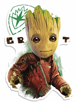 Wall Art Groot oo Eyes GOTGV2 Wall Mounted Cardboard Cut Out (WMCCO)