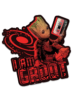 I am Groot (Mix Tape) GOTGV2 Wall Mounted Cardboard Cut Out (WMCCO)