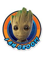 I am Groot Wall Mounted Cardboard Cut Out (WMCCO) GOTGV2