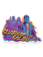 Guardians of the Galaxy Guitar Wall Mounted Cardboard Cut Out (WMCCO) GOTGV2