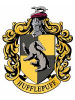 Hufflepuff Emblem Wall Cut Out HARRY POTTER WIZARDING WORLD