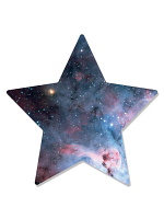 Star Within a Star Wall/Poster Cardboard Cutout