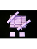 Wedding Crackers In Lilac With Lilac Ribbon Attached (pack of 10)