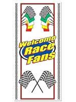 Welcome Race Fans Door Cover