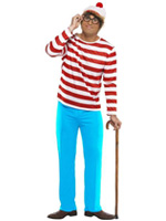 Where's Wally Costume (12345)