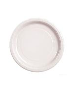 "White 9"" Paper Plates ( pk 8)"
