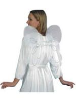 Wings Angel Wings White Net Silver Glitter (A Hen Night Favourite!!)