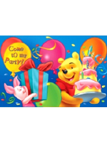 Winnie the Pooh Invitation Pad