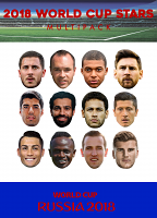 World Cup 2018 Stars Multipack 12 pack
