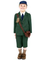 World War 2 Evacuee Costume