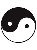 Yin Yang Cutout