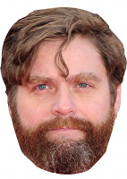 ZACH GALIFIANAKIS MASK