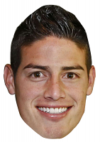 James Rodriguez Mask (Colombia)