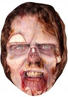 Zombie Woman - Cardboard Mask