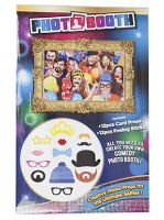 Adult Photo Booth Kit - 12 Pieces