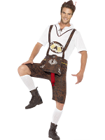 Brad Wurst Bavarian Costume 12345