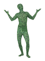 Second Skin Suit - Grass Pattern