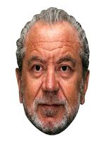 Alan Sugar Face Mask.