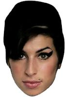 Amy Winehouse Face Mask
