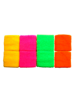Neon Coloured Wrist Sweatbands