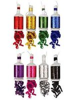 Holographic Assorted Colours Party Poppers - 20