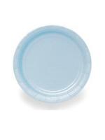 "Baby Blue 9"" Paper Plates (PK 8)"