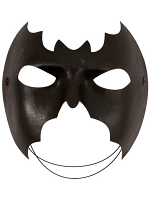 Half Face Bat Mask