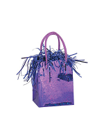 Balloon Weight Mini Handbag Purple