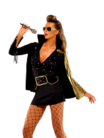 Elvis Ladies Black Viva Las Vegas (12345)
